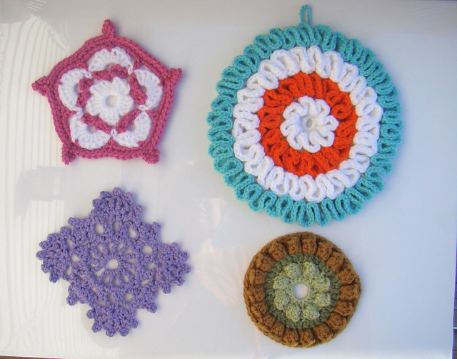 Free Crochet Patterns Hotpads Potholders : photo