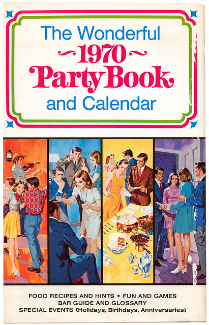 The Wonderful 1970 Party Book And Calendar BN0061 Cover 2
