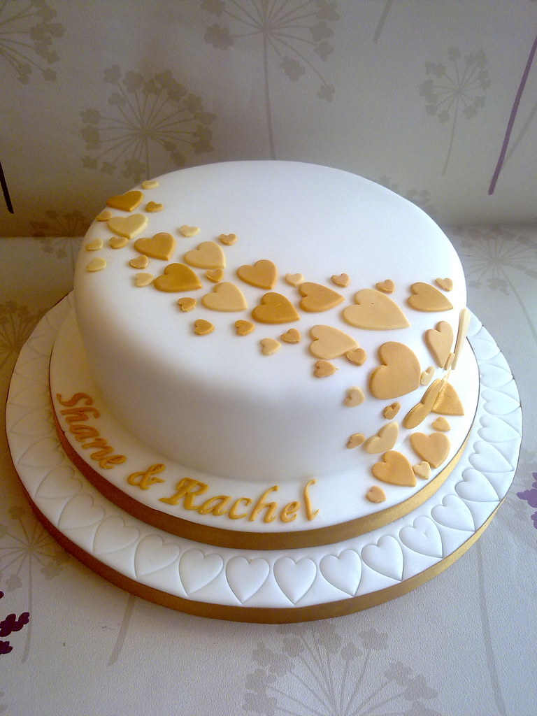 Single Tier Wedding Cake Www Creationsbypaulajane Co Uk Flickr