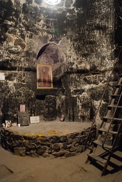 Dungeon Cell of St Gregory the Illuminator - St Gevorg Basilica - Khor Virap, Armenia