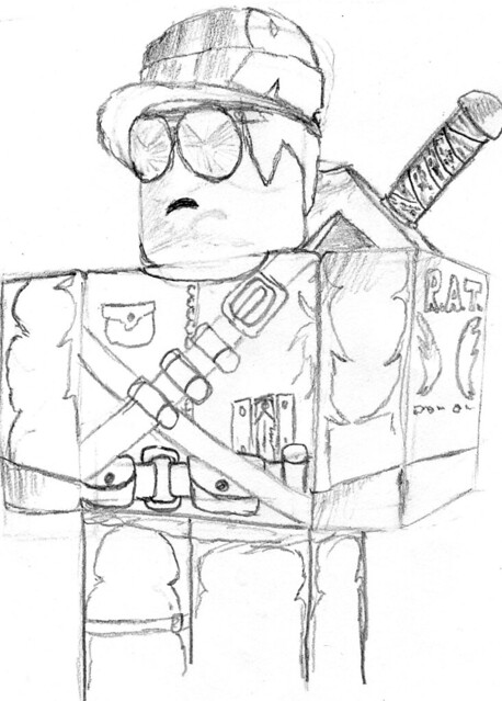 Coloring Pages Roblox : Roblox coloring pages