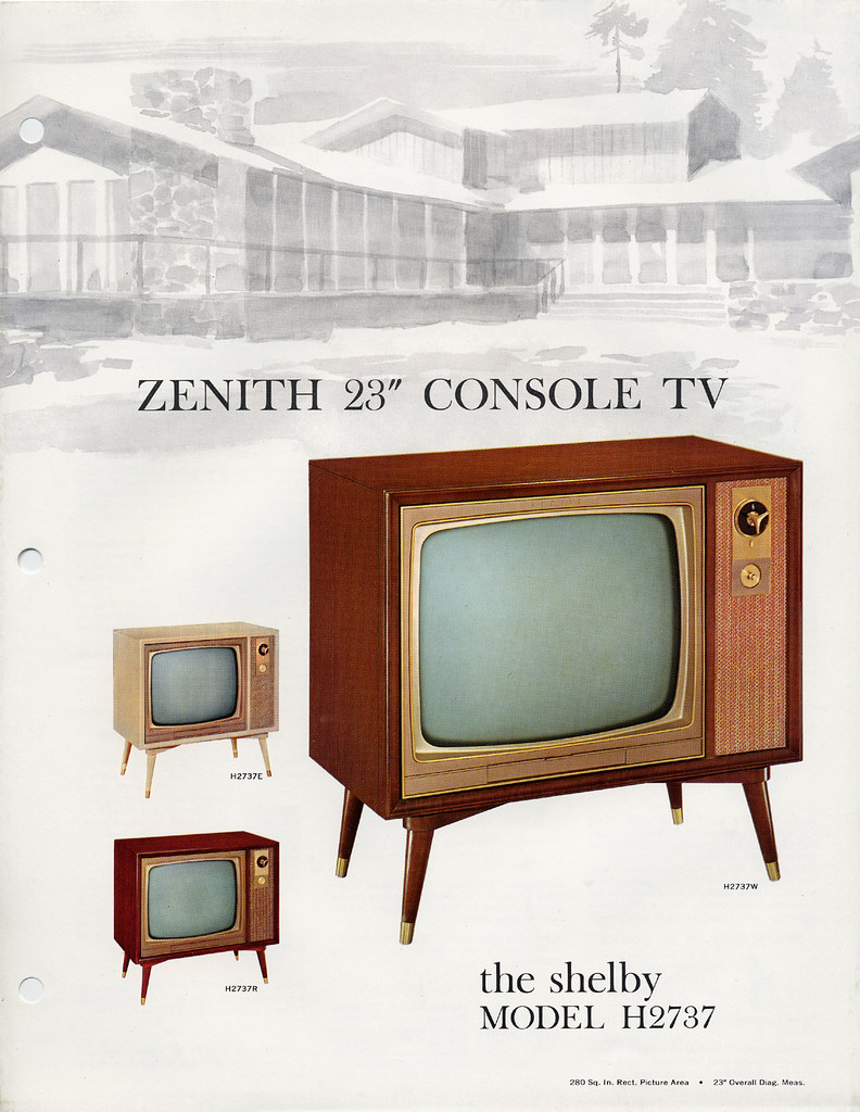 Zenith shelby console tv  s a photo on flickriver