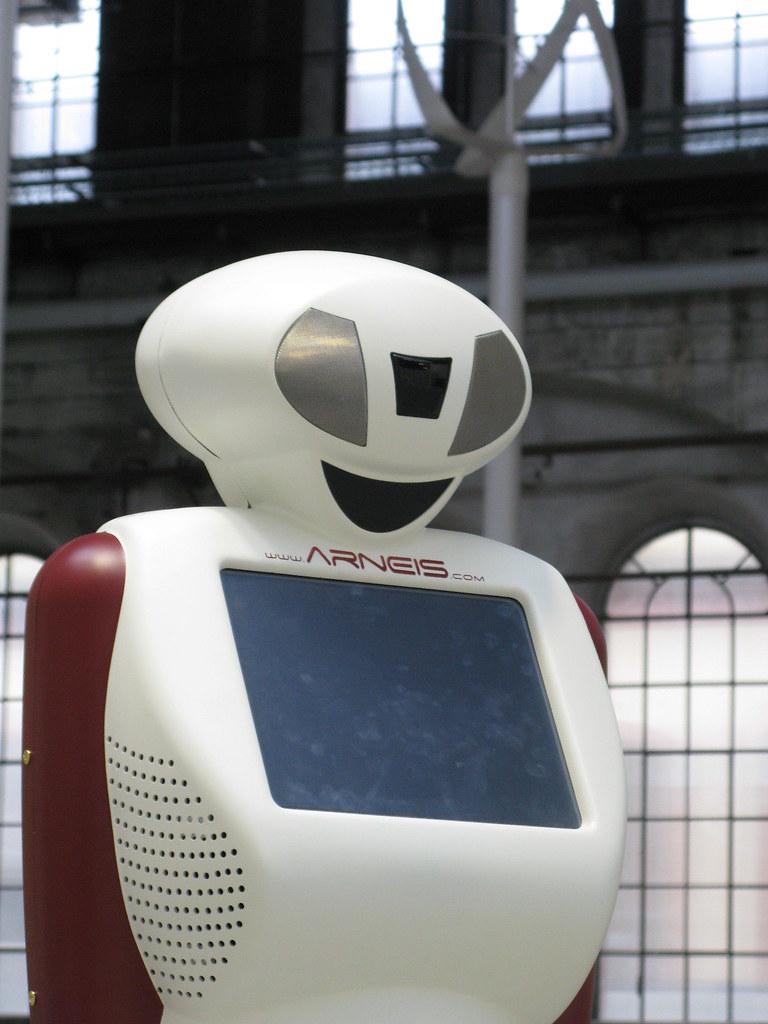 i primi giri di prova di Beatrice Robot all'interno delle OGR