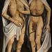 Musée de l'Oeuvre Notre-Dame, Strasbourg. Les Amants Trépassés, Rhin supérieur, vers 1470, huile sur panneau de sapin