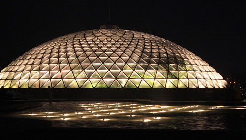 Bloedel Conservatory at Night