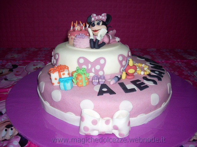 torta minnie | Flickr - Photo Sharing!