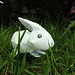 Recyclable rabbit by Jeanne Marques