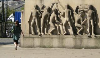 Image of  Thorvald Stauning. monument copenhagen memorial socialist kopenhagen leder führe stauning sozialist denkmall