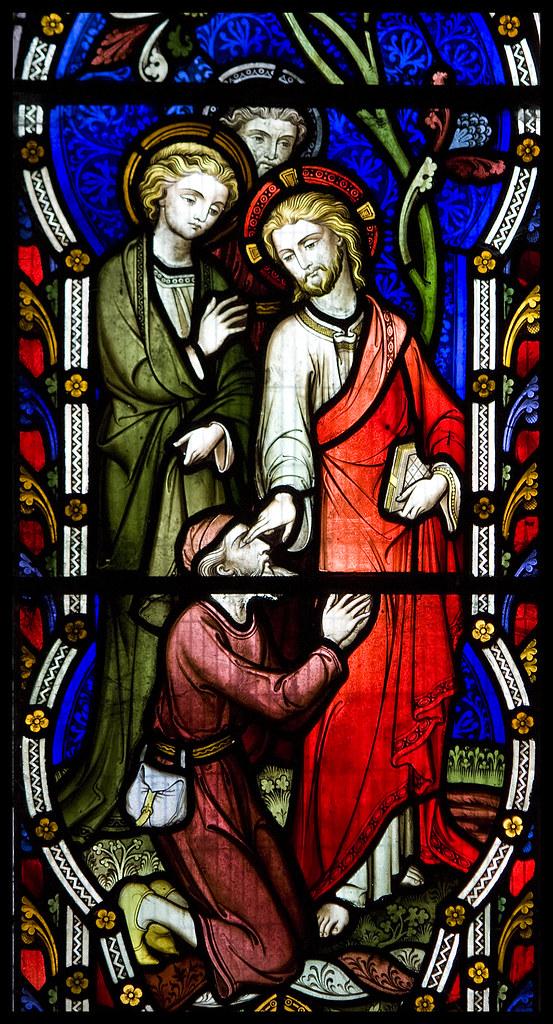 Christ heals the Blind Man