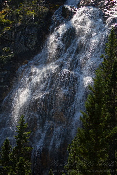 Spray Lakes Falls