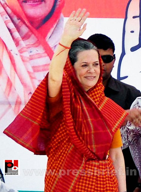 Sonia Gandhi in Barnala, Punjab