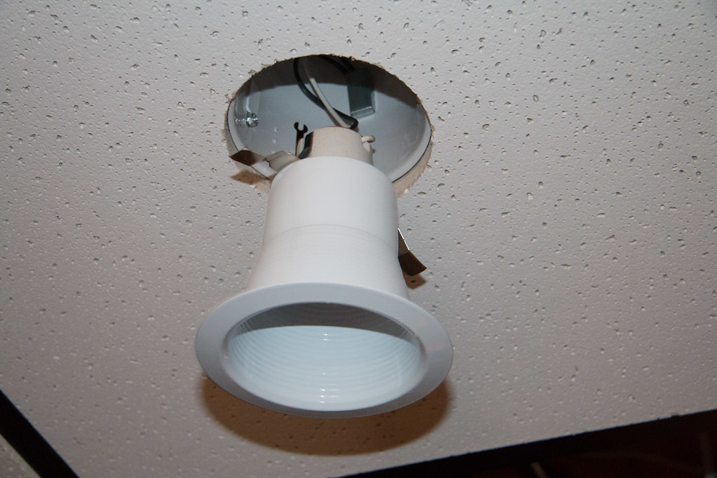 DIY Recessed Lighting Installation in a Drop Ceiling (Ceiling ...