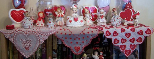 Vintage Valentine Girls and Angels by MissConduct*