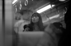 Reflections of a Face, Etc. on a Train : Film Only Project
