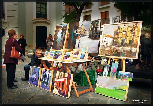 E learning conocimiento en red la plaza del museo y - Mercadillos sevilla domingo ...