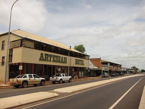 Barcaldine, typowe outbackowe miasteczko