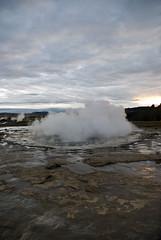 Iceland - Strokkur - Geysir's Smaller Brother