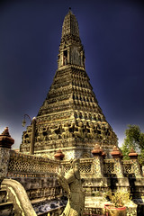 Wat Arun from afar.