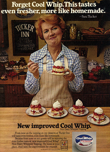 Vintage Ad #1,390: Forget Cool Whip...