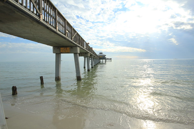 Ft myers fishing pier flickr photo sharing for Fort myers fishing pier