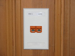 Office Network Outlet - Ready for Use