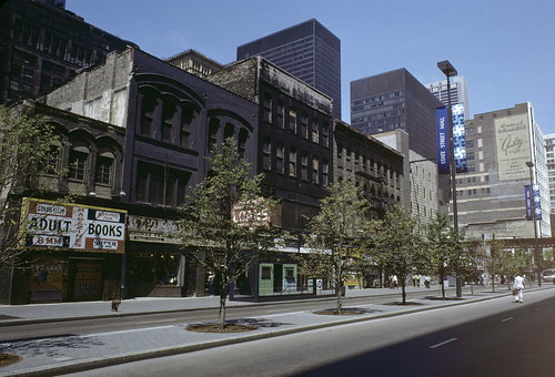 View of State Street from Congress Parkway to Van Buren Street