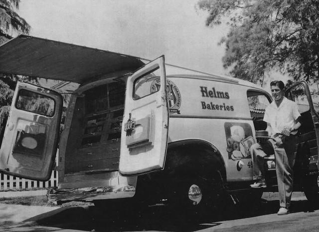 L.A. 1950s Helms Bakery Truck