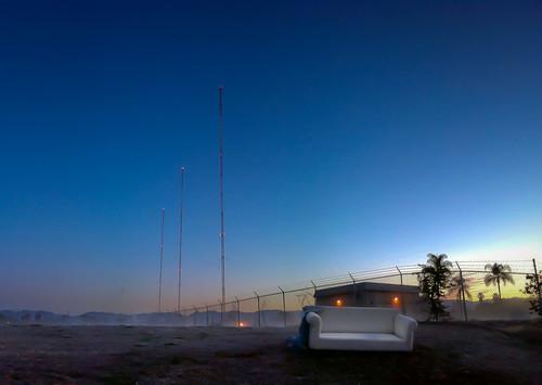 mist radio sunrise pano sofafree transmitter iphone iphoneography