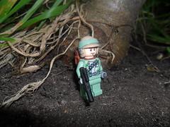 One Man Patrol in the Woods of Endor