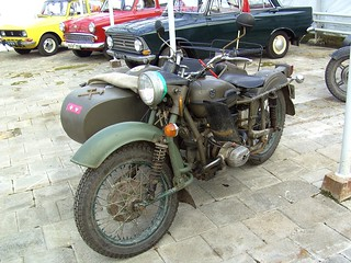 1993 Ural IMZ-8 motorcycle and sidecar