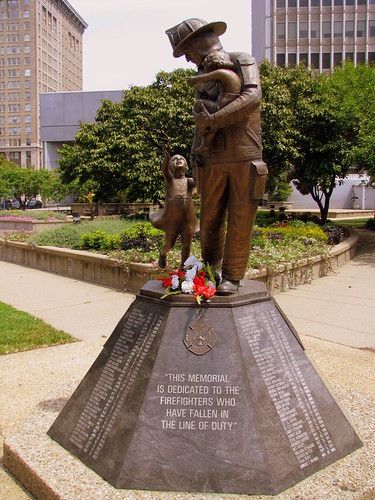 Louisville, KY's Firefighter Memorial