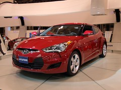 automobile, automotive exterior, hyundai, wheel, vehicle, automotive design, auto show, mid-size car, hyundai veloster, land vehicle, coupã©,