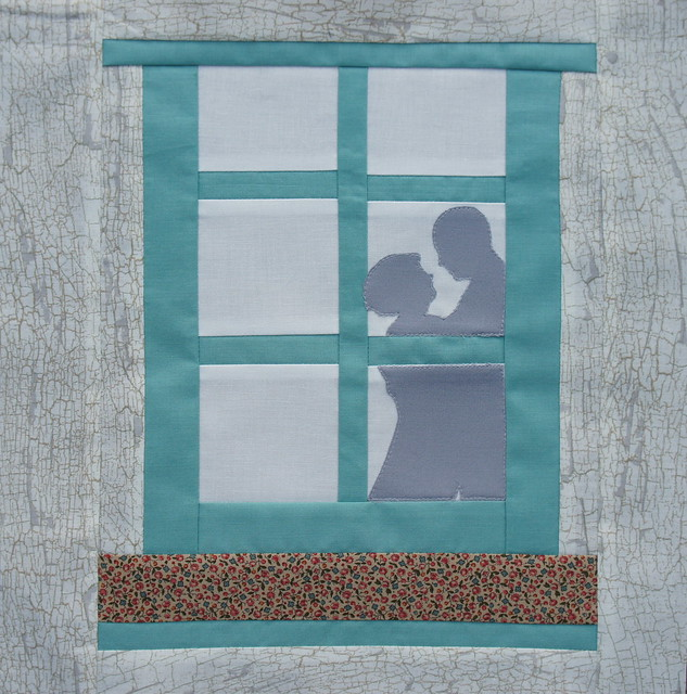 Window Block for Lucinda - Busy Bees March