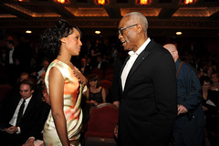 Kerry Washington and Bill T Jones