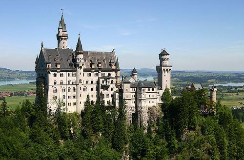 Neuschwanstein Castle 1892