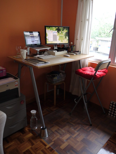 IKEA DIY standing desk