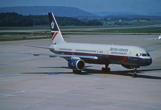 34cc - British Airways Boeing 757-236; G-BIKI@ZRH;07.08.1998