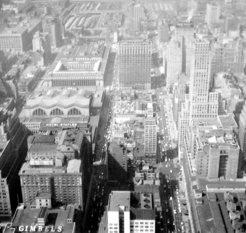 1957 New York Trip View From Empire State Building Observatory (4)