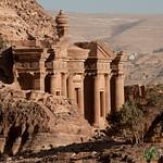 Looking Down on the Monastery - Petra, Jordan