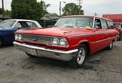 1963 Ford Country Sedan Station Wagon (3 of 9)