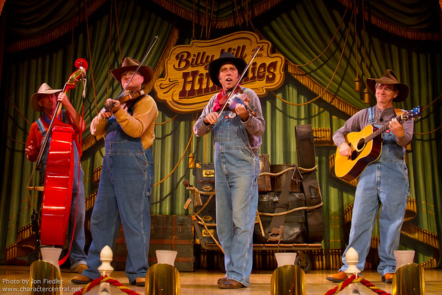Disneyland Aug 2010 - Billy Hill and the Hillbillies