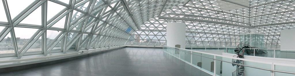 Panorama of museum Kunstsammlung Nordrhein Westfalen