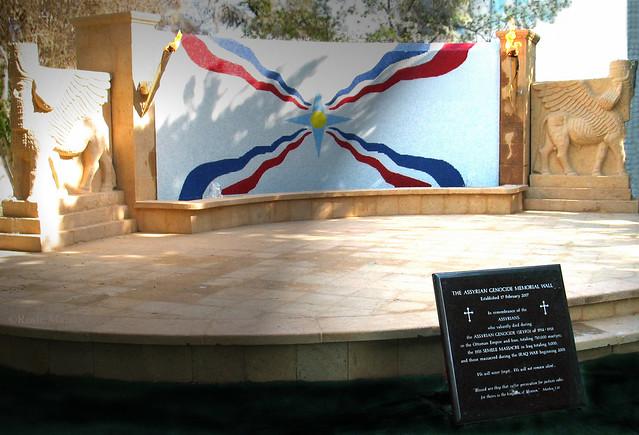 Assyrian Genocide Memorial Wall