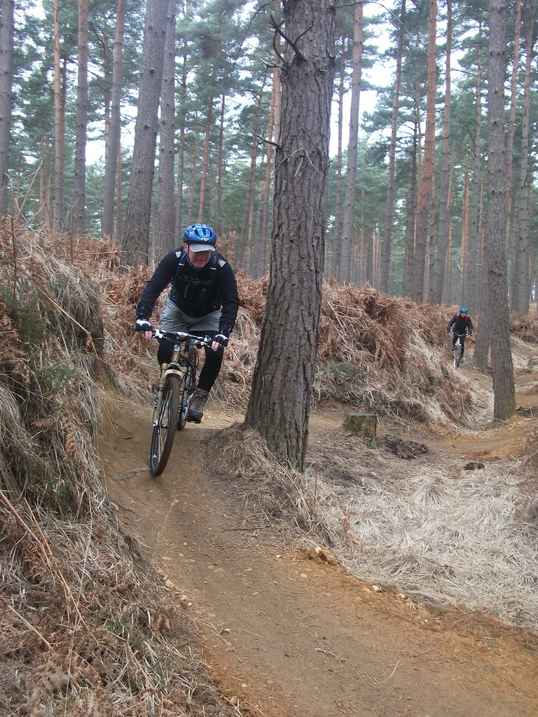 Easter Bluebell Ride Newforce New Forest Mountain Bike Club