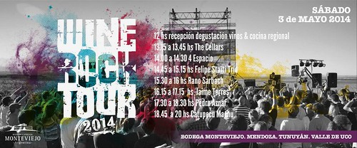 Wine Rock Tour 2014