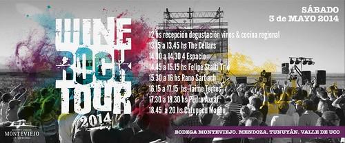 Wine Rock Tour 2014, Mendoza