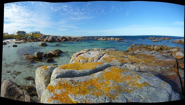 Panorama Bay of Fires Tasmania