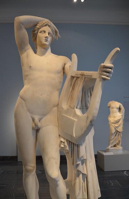Statue of Apollo Lykeios, Altes Museum Berlin
