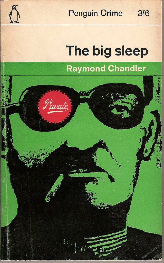 Penguin Book Cover Size ~ The big sleep penguin book cover flickr photo sharing