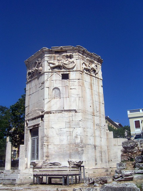 The Tower of the Winds, The Roman Forum (Athens)